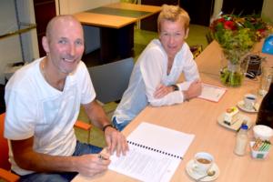 De ondertekening van de samenwerkingsovereenkomst vindt aan het einde plaats