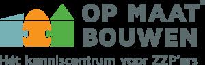 Logo Op Maat Bouwen Het Kenniscentrum voor ZZP'ers