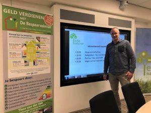 Presentatie De Bespaarvakman Theo van der Hek over energie besparen in de eigen woning